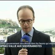 Aléxis Tsipras s'allie aux souverainistes