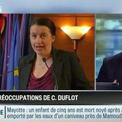 Le parti pris d'Hervé Gattegno : Cécile Duflot s'inquiète plus pour son avenir que pour celui de la planète!