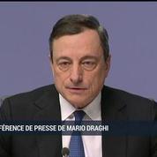 BCE : Mario Draghi annonce le lancement d'un quantitative easing