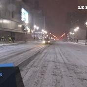 New York paralysée à l'approche de la tempête Juno