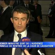 «Le racisme, l'antisémitisme et l'apologie du terrorisme sont des délits» déclare Manuel Valls.
