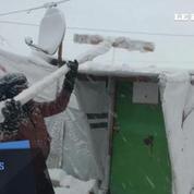 Liban : les réfugiés syriens soumis à un froid extrême