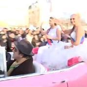 Jour de parade sur les Champs-Elysées pour le 1er janvier