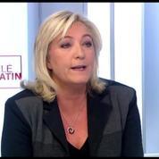 Le Pen: «Nous payons la baisse des moyens de nos services de renseignement»