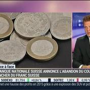 Eric Bertrand VS Régis Bégué (1/2): La BNS abolit le cours plancher du franc suisse