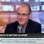 Le chronique d'Anthony Morel: Foot, Marathon, Ping-pong: les robots se mettent au sport !