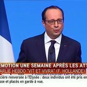 François Hollande ovationné à la Philharmonie de Paris