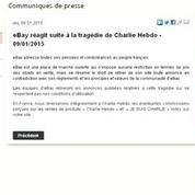 Charlie hebdo: les prix s'envolent sur E Bay