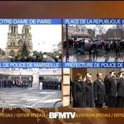 Attentat à Charlie Hebdo: une minute de silence observée dans toute la France