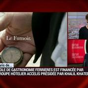 Le Paris de Khalil Khater, Ecole de gastronomie Ferrières
