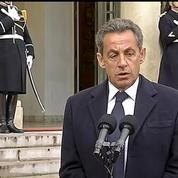 Sarkozy: On peut certainement travailler à améliorer nos dispositifs de sécurité