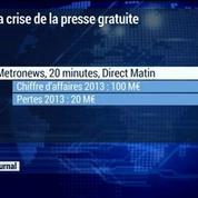 Metronews, 20 minutes et Direct matin au coeur de la crise de la presse gratuite