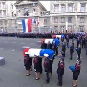 L'hommage de la nation aux policiers tués dans les attentats