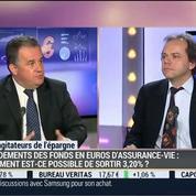 Les agitateurs de l'épargne: Les fonds en euros de l'assurance-vie rapportent plus de 3% pour l'année 2014: Jean-François Filliatre et Jean-Pierre Corbel (2/4)