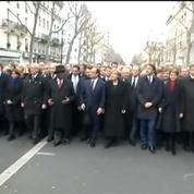 La marche des chefs d'Etat contre la terreur