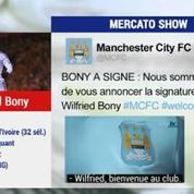 Mercato Show / La fiche transfert de Wilfried Bony à Manchester City