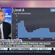 Les agitateurs de l'épargne: La rémunération du livret A devrait encore baisser: Jean-François Filliatre et Jean-Pierre Corbel (1/4) –