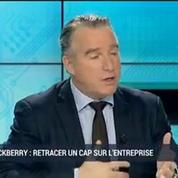 BlackBerry retrace un cap sur l'entreprise: David Derrida –