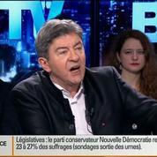 BFM Politique: L'interview de Jean-Luc Mélenchon par Apolline de Malherbe (1/6)
