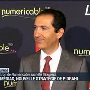 Les médias : nouvelles stratégie de Patrick Drahi