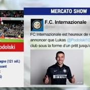 Mercato Show / La fiche transfert de Podolski à l'Inter Milan