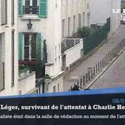 Laurent Léger, survivant de Charlie Hebdo : «La barbarie est entrée dans le journal»