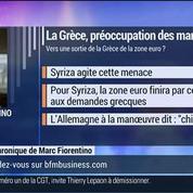 Marc Fiorentino: Les marchés secoués par la Grèce: on a une impression de déjà-vu !