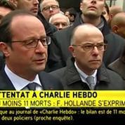 Charlie Hebdo : Hollande évoque