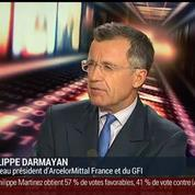 Philippe Darmayan, président d'Arcelor Mittal France (2/3)