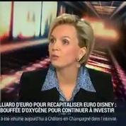 Virginie Calmels, présidente du conseil de surveillance d'Euro Disney (2/2)