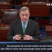 Charlie Hebdo : un sénateur américain appelle à un effort conjoint pour rendre justice