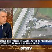 Frères Kouachi : la traque continue près de Villers-Cotterêts dans l'Aisne