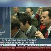 BCE: le quantitative easing pourrait-il sortir la zone euro de la déflation ?: Gilles Moëc