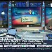Le Club de la Bourse: Igor de Maack, Béatrice Philippe et Jérôme Vinerier
