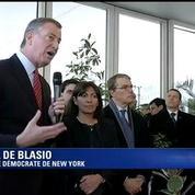 Discours du maire de New York pour les victimes des attentats parisiens