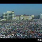 Tchétchénie : rassemblement contre Charlie Hebdo à Grozny