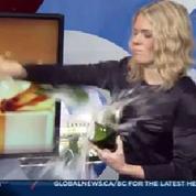 Un sabrage de champagne raté... deux fois