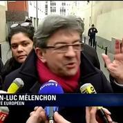 Jean-Luc Mélenchon sur l'attentat de Charlie Hebdo : il faut se serrer les coudes