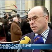 Clip choc anti-jihadisme: l'idée c'est de diffuser un contre discours, explique Cazeneuve