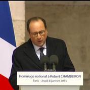 Hollande: Aujourd'hui est un jour de deuil national