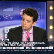 Thibault Prébay VS Mathieu L'Hoir (1/2): Comment expliquer la décision de la Banque nationale suisse ?