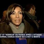 Anne Hidalgo veut faire de Charlie Hebdo un citoyen d'honneur de la ville de Paris