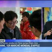 La Chine, 1er marché mondial d'Apple
