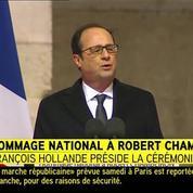 Hollande : «Notre grande France sait se réunir»