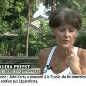 Claudia Priest : « J'ai été frappée à la tête »