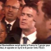 Manuel Valls entonne la Marseillaise avec la foule en hommage aux victimes de la Porte de Vincennes