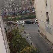 <i>Charlie Hebdo</i> : des images amateurs de la fusillade
