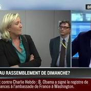 Brunet & Neumann : Fallait-il inviter le FN à participer au rassemblement de dimanche?