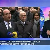Charlie Hebdo: le monde entier regarde la France