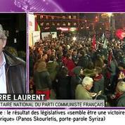 Laurent qualifie la victoire de Syriza en Grèce de «belle leçon d'espoir»
